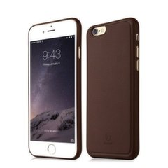 Baseus Comfy Case Impact Silicone Case for Apple iPhone 6 / 6S Plus Brown