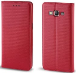 Mocco Smart Magnet Book Case For Apple iPhone 5 / 5S / 5SE Red