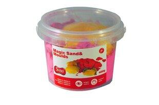 Magiškas smėlis Smiki, 0,4 kg, rožinis