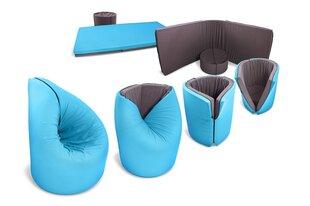 Riposo Čiužinys - sėdmaišis, 90x210 cm, mėlynas - pilkas kaina ir informacija | Čiužiniai | pigu.lt