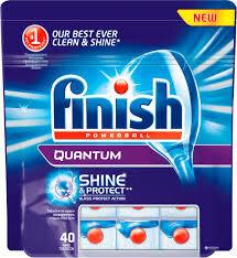 Finish Quantum MAX indaplovių tabletės, 40 vnt