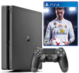 Sony PlayStation 4 (PS4) Slim, 1TB + Fifa 18