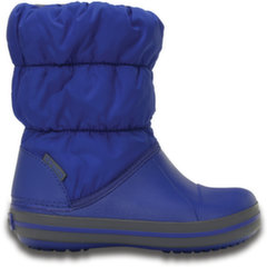 Crocs™ žieminiai batai Winter Puff Boot Kids, CrBl/Lgr