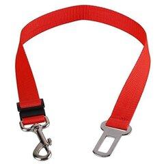 Amiplay augintinio saugos diržas Basic, M, raudonas