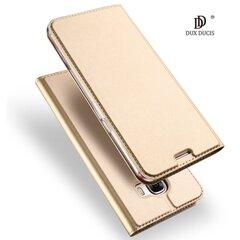 Dux Ducis Premium Magnetinis dėklas telefonui Huawei P8 Lite / P9 Lite (2017) auksinis