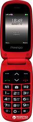 Prestigio Grace B1, 2.4'', Raudona kaina ir informacija | Mobilieji telefonai | pigu.lt