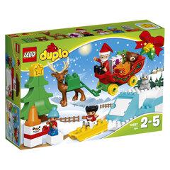 10837 LEGO® DUPLO Kalėdų Senelio žiemos šventė
