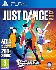 Žaidimas Just Dance 2017 skirtas (PS4)