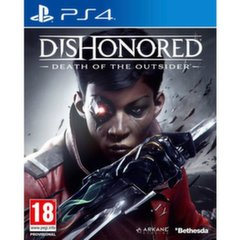 Dishonored: Death of the Outsider, (PS4)