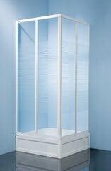 Kampinė dušo kabina Sanplast Classic KN s-c 90s, polistirenas kaina ir informacija | Paprastosios dušo kabinos | pigu.lt