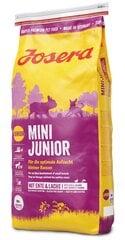 Josera nuo 3 savaičių amžiaus MiniJunior, 15 kg kaina ir informacija | Josera nuo 3 savaičių amžiaus MiniJunior, 15 kg | pigu.lt