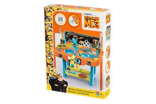 Jaunojo meistro įrankių stalas Minions (Pakalikai) kaina ir informacija | Žaislai berniukams | pigu.lt