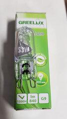 Halogeninė lemputė 53W G9 220-240V Greelux kaina ir informacija | Halogeninė lemputė 53W G9 220-240V Greelux | pigu.lt