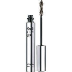 Blakstienų tušas ilginamasis, tankinamasis Make Up Factory All In One 9 ml