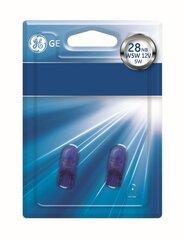 Automobilinės lemputės General Electric 12V 5W W2.1x9.5d W5W 501NB 93011341, blisteris 2 vnt.