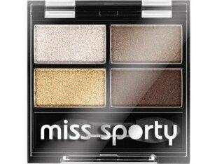 Akių šešėliai Miss Sporty Quattro Studio 3.2 g, 413 Golden kaina ir informacija | Akių šešėliai, pieštukai, blakstienų tušai, serumai | pigu.lt