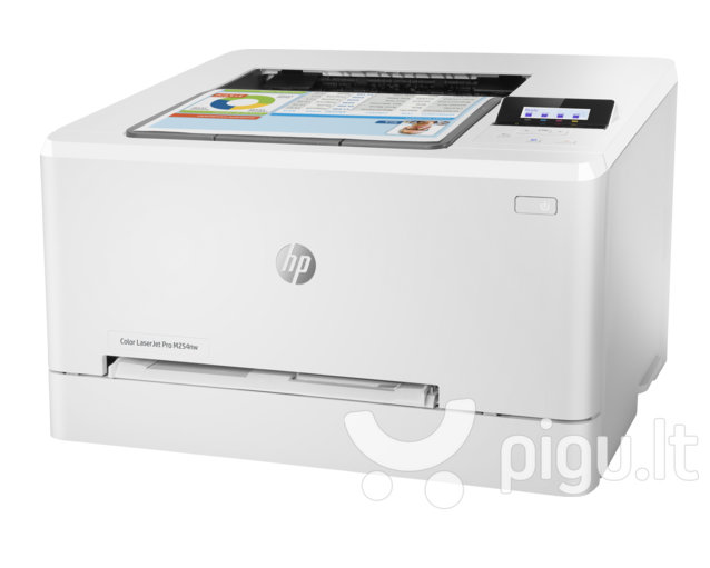 HP Color LaserJet Pro M254nw / spalvotas internetu