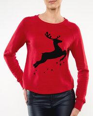 Megztinis moterims Vila Vianna Reindeer