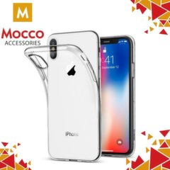 Mocco Ultra Back Case 0.3 mm Silicone Case for Apple iPhone X Transparent kaina ir informacija | Telefono dėklai | pigu.lt