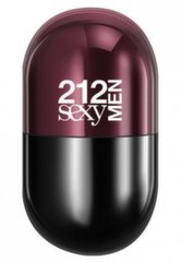 Tualetinis vanduo Carolina Herrera 212 Sexy Men Pills EDT vyrams 20 ml