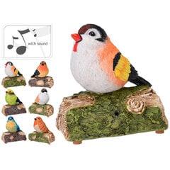 Садовый декор со звуком-Птица