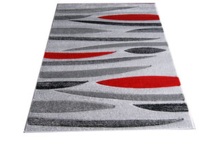 Kilimas Fantazija 01 Grey/red, 80x150 cm