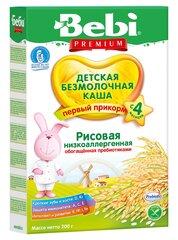 Bebi hipoalerginė ryžių košė nuo 4 mėn., be cukraus, 200 g