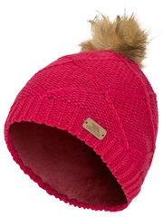 Trespass žieminė kepurė mergaitėms Tanisha, raspberry kaina ir informacija | Aksesuarai vaikams | pigu.lt