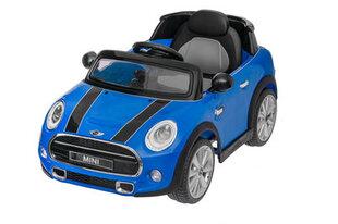 Elektrinis vaikiškas automobilis Mini kuperis S 12V, mėlynas