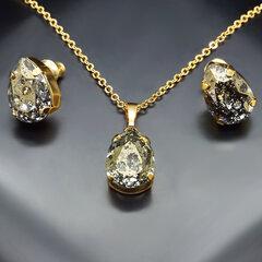 """Papuošalų rinkinys moterims DiamondSky """"Venus II"""" su Swarovski kristalais"""