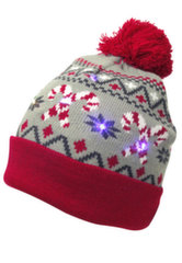 LED Kalėdinė kepurė Capelli LK-12054 Universalus