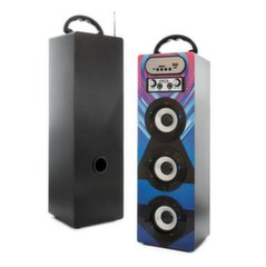 Mocco Tower Portable Speaker Bluetooth 4.0 / 15W / 360 Surround / Micro SD / USB / Remote / FM / Model 06