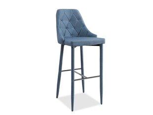 4-ių baro kėdžių komplektas Trix, mėlynas