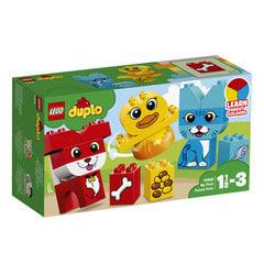 10858 LEGO® DUPLO Mano pirmasis gyvūnėlių galvosūkis kaina ir informacija | Konstruktoriai ir kaladėlės | pigu.lt