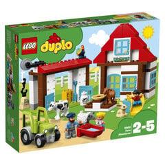10869 LEGO® DUPLO Nuotykiai ūkyje kaina ir informacija | Konstruktoriai ir kaladėlės | pigu.lt