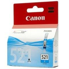 Rašalo kasetė CANON CLI-521C, mėlyna kaina ir informacija | Rašalo kasetė CANON CLI-521C, mėlyna | pigu.lt
