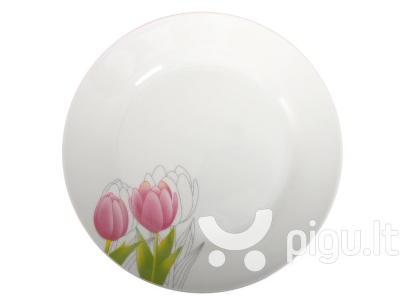 Domotti desertinė lėkštė Tulpė, 19 cm