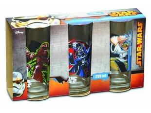 Disney vaikiškas stiklinių komplektas Star Wars, 3 vnt