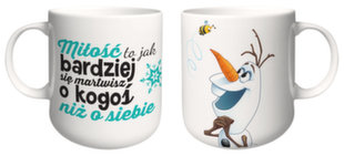 Disney vaikiškas puodelis Frozen - Olaf, 350 ml
