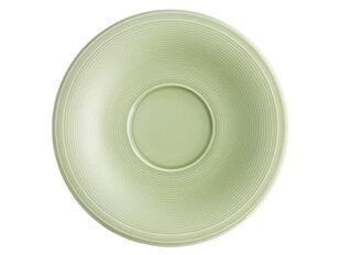 AMBITION lėkštutė puodeliui Sweet green, 15,5 cm kaina ir informacija | Indai, lėkštės, pietų servizai | pigu.lt