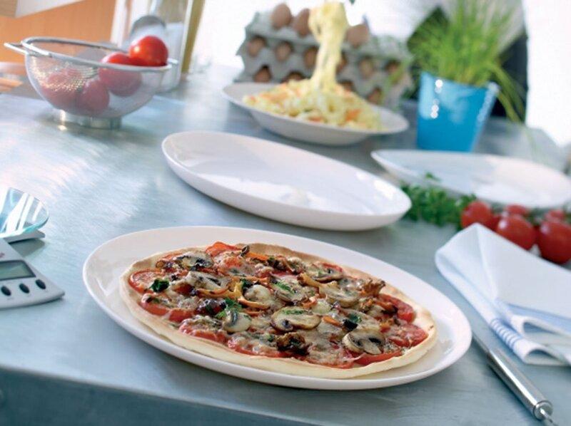 Luminarc lėkštė Pizza Friends Time White, 32 cm