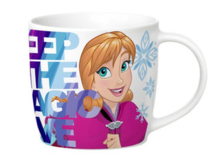 Disney vaikiškas puodelis Frozen Magija, 300 ml kaina ir informacija | Taurės, puodeliai, ąsočiai | pigu.lt