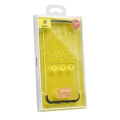 Baseus Wing Case Impact Plastic Case for Samsung G955 Galaxy S8 Plus Transparent - Blue kaina ir informacija | Baseus Wing Case Impact Plastic Case for Samsung G955 Galaxy S8 Plus Transparent - Blue | pigu.lt