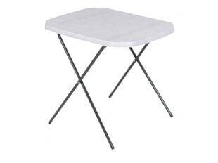 Sulankstomas turistinis staliukas Patio 70x53 cm, pilkas kaina ir informacija | Sulankstomas turistinis staliukas Patio 70x53 cm, pilkas | pigu.lt