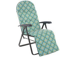 Pagalvė kėdei/gultui Patio Galaxy Plus, mėlyna/spalvota kaina ir informacija | Pagalvės, užvalkalai, apsaugos | pigu.lt