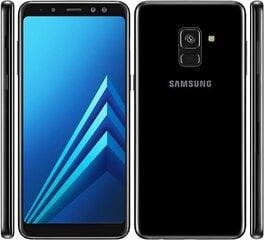 Samsung Galaxy A8 (2018) A530, Dual SIM, Juoda kaina ir informacija | Mobilieji telefonai | pigu.lt