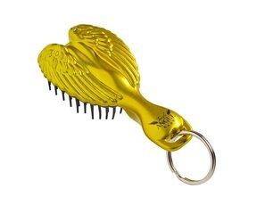 Kompaktiškas plaukų šepetys su raktų pakabuku Tangle Angel Gold 1 vnt