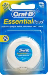 Dantų siūlas Oral-B Essential Floss Regular 50 m