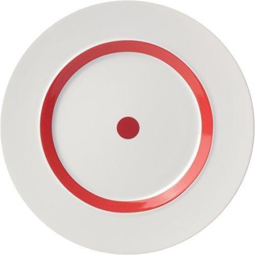 ViceVersa desertinė lėkštė, raudona, 23 cm