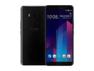 HTC U11+, 64 GB, Juoda